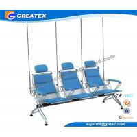 Wholesale Comfortable Steel Manual Hospital Infusion / Transfusion Chair With PU Cushion from china suppliers