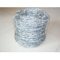Wholesale Green Double Twist Galvanized Barbed Wire Against Corrosion With PE from china suppliers