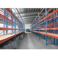 Wholesale Heavy Duty Industrial Steel Storage Racks with Plywood Board for Huge Warehouse from china suppliers