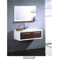 Wholesale White hanging bathroom vanity modern 100 X 47/ cm  15mm PVC board Material from china suppliers