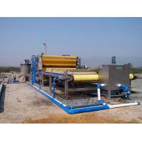 Wholesale Continuous Sludge Dewatering Belt Fliter Press For Mining Industry from china suppliers