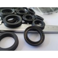 Wholesale High Tensile Strength PTFE Seal , Silicone Rubber Gaskets Black Color from china suppliers