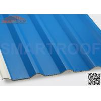 Quality 94% Efficiency PVC Hollow Plastic Roofing Panels Sheets With Low Heat Conductivity for sale