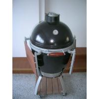 Wholesale L / M / S Φ535 * H760mm Big Green Egg Ceramic Oven With Stainless Steel Barbecue Net from china suppliers