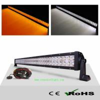 Wholesale AMBER WHITE 240W LED Spot Flood Combo Work Light Bar Fog Driving Lights Lamp with Cus from china suppliers