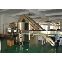 Wholesale Customized Semi Automatic Bottle Unscrambler for PET Bottle / Glass Bottle from china suppliers