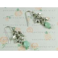 Wholesale Fahion Beaded Alloy Earrings from china suppliers