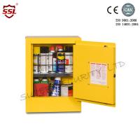 Wholesale Double Wall Chemical Storage Cabinets For Flammable Liquid , Fuel Storage Cabinets from china suppliers