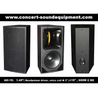 "Wholesale 600W Nightclub Sound Equipment , 1.4"" + 15"" Full Range Speaker For Show , Disco , Living Event And DJ from china suppliers"