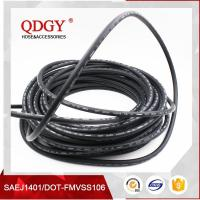 Wholesale DOT SAE J1401 standard FMVSS 106 approved Rubber brake hose with two PVA reinforcement from china suppliers