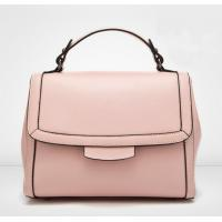 Quality Pink Shoulder Bags Genuine Leather Small Messenger Bags Ladies Handbags for sale