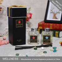 Luxury Home Reed Diffuser 80ml 100ml 150ml With Clear Liquid Bottle
