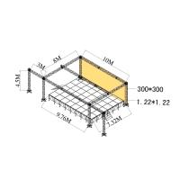 Wholesale Exhibitions Aluminum Stage Truss Quickly Install Made By 6082-T6 from china suppliers