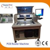 Buy cheap High Efficient PCB Singulation Circuit Board Router Equipment from wholesalers