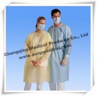 Wholesale Spunbonded Disposable Isolation Gowns PP/ PP W PE / SMS Material from china suppliers