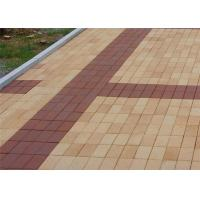 Wholesale Low Water Absorption Outdoor Wood Floor Tiles , Thin Brick Pavers For Garden / Landscape from china suppliers