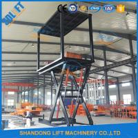 Wholesale 3T+3T 3M Double Deck Car Parking System , Double Platform Scissor Car Lift for Home Garage from china suppliers