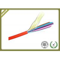 Buy cheap 12core MM Fiber Optic Cable with 0.9mm tight buffer PVC jacket orange color from wholesalers