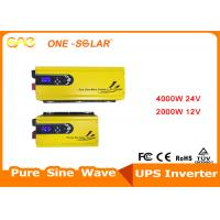 Wholesale 4000w 24v 2000w 12v Toroidal Transformer Pure Sine Wave Inverter FCC Certification from china suppliers