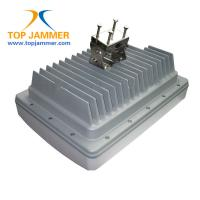 Buy cheap IP Remote Monitoring Waterproof High Power Jammer Blocker GSM 3G 4G LTE UHF VHF Lojack RF from wholesalers