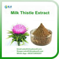 Wholesale High Quality Milk Thistle Extract Silymarin 80% from china suppliers