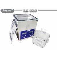 Wholesale Bentch Top Stainless Steel 2liter Ultrasonic Cleaner Bath Household Use Sterilize from china suppliers