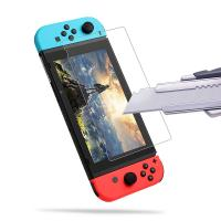 Quality Transparent Protective Film Nintendo Switch Parts for Tempered Glass Protector for sale