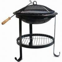 Wholesale Black Fire Pit, Measures 54.5 x 54.5 x 68cm from china suppliers