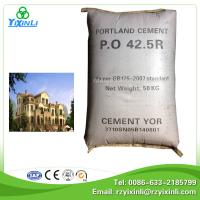 Quality hot sale opc cement 42.5r prices for sale