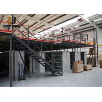 Wholesale Steel Q235 / 245 Industrial Mezzanine Floors Capacity 500kg - 4000kg / Sqm from china suppliers