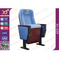 Wholesale 5 Years Warranty Auditorium Theatre Seating Folding Tip Up Seat Wooden Outer Panel from china suppliers