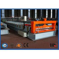 Wholesale Automatic Corrugated Roof Roll Forming Machine , Roof Sheet Making Machine from china suppliers