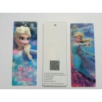 Wholesale 3D Lenticular Personalised Bookmarks For Schools , Bookmark Printing Services from china suppliers