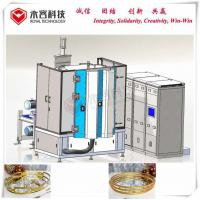 Wholesale Wear Resistance PVD Gold Plating Machine, DC Sputtering Gold Plating,  Au Gold Magnetron Sputtering Deposition from china suppliers