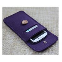 Wholesale High quality factory price custom felt phone case made in China from china suppliers