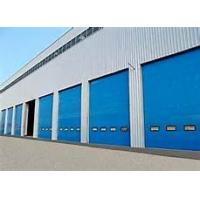 Wholesale Industrial High Speed Sectional Garage Doors Safe 40mm Insulated Sandwich Panel from china suppliers