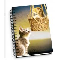 Wholesale Cartoon Pet Hardcover 3d Lenticular Notebook With Spiral Binding For Student Diary from china suppliers