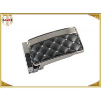Wholesale Zinc Alloy Metal Reversible Belt Buckle With Clip , Embossed Rhinestone Belt Buckle from china suppliers