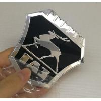 Wholesale New model Custom Chrome plastic ABS car badges emblems and auto car logo metal emblems badge factory from china suppliers