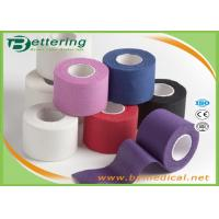 Wholesale Coloured Athletic Cotton Sports Tape Trainers Strapping Tapes Joints Protector GYM tape from china suppliers