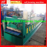 Wholesale Trapezoidal Sheet Roof Panel Roll Forming Machine corrugated roof panels from china suppliers