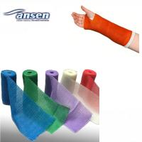 China Medical Consumable Bandage Wound Dressing Fiberglass Polyester Casting Tape on sale