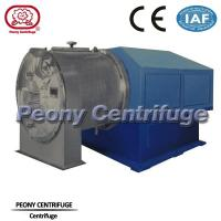 Wholesale Automatic 2 Stage Pusher basket centrifuge used for removing moisture from salt mixture from china suppliers