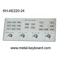 Wholesale Rugged Stainless Steel Industrial Entry Keyboard with 24 Keys , Full Metal Keyboard from china suppliers