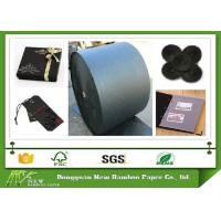 Wholesale Degradable One Side Coated Black Paper Roll from 110gsm to 600gsm from china suppliers