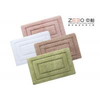 Wholesale Eco Friendly Hotel Collection Bath Rugs Long Terry Yarn 1000 - 1200 Gram from china suppliers