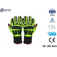 China Rescue PPE Safety Gloves , Metal Safety Gloves TPR Material Wear Resistant for sale