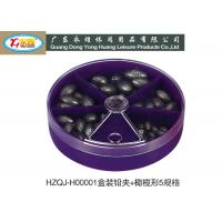 Wholesale Deep sea Fishing lead sinker weights packing with Purple Red White Box from china suppliers