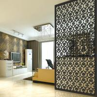 Decorative Stainless Steel Laser Cut Outdoor Metal Screen  Partition Made in China
