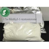 Wholesale Pharmaceutical Grade Raw Steroid Powder 17a-Methyl-1-testosterone 65-04-3 from china suppliers